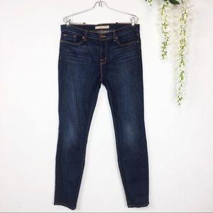 J BRAND skinny leg jeans dark vintage wash